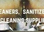 Cleaning & Sanitizing