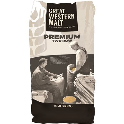 Great Western Premium Two Row Malt 55 lb. Bag