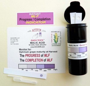 "Accuvin ""Quick Tests"" for Malic Acid (pkg 10)"