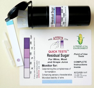 "Accuvin ""Quick Tests"" for Residual Sugar"