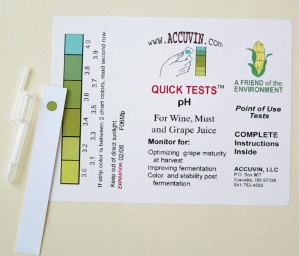 "Accuvin ""Quick Tests"" for pH (pkg 10)"