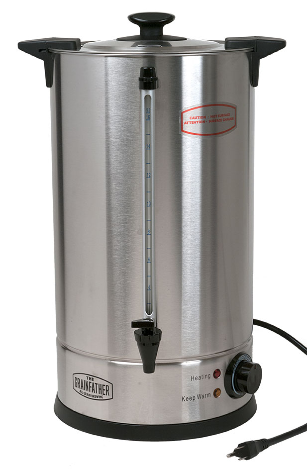 20 X 20 Strip Heater: 4.8 Gallon Sparge Water Heater