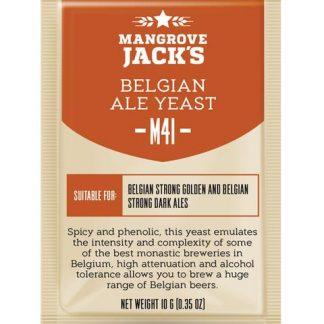 Mangrove Jack M41 Belgian Ale Yeast 10 grams