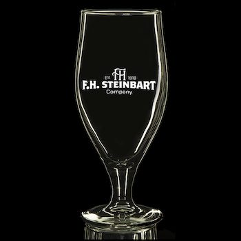 Fh steinbart beer glass