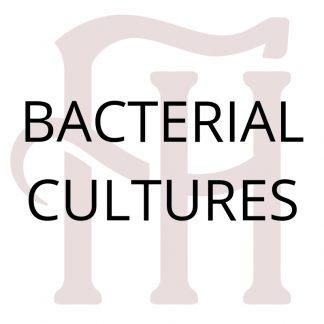 Bacterial Cultures