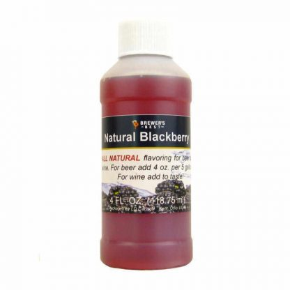 #1705-B-1 Natural Blackberry Flavoring Extract 4 oz