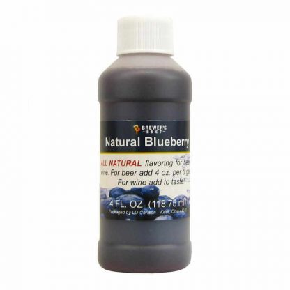 #1705-D-1 Natural Blueberry Flavoring Extract 4 oz