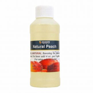 #1705-F-1 Natural Peach Flavor 4oz