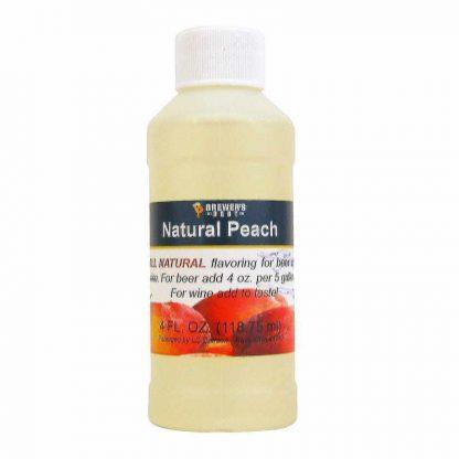 #1705-F-1 Natural Peach Flavor 4oz