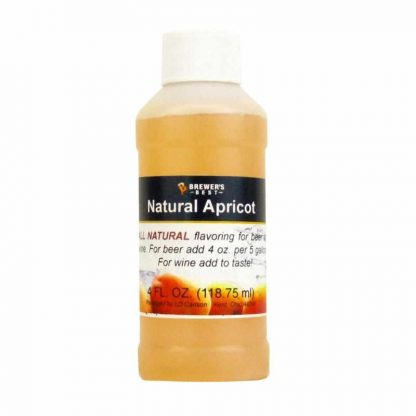 #1705-H-1 Natural Apricot Flavoring Extract 4 oz