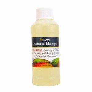 #1705-J-1 Natural Mango Flavoring Extract 4 oz