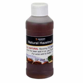 #1705-K-1 Natural Hazelnut Flavoring Extract 4 oz