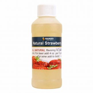 #1705-L-1 Natural Strawberry Flavoring Extract 4 oz