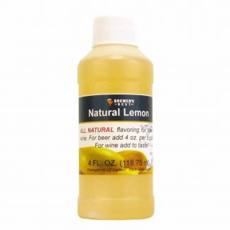 #1705-M-1 Natural Lemon Flavoring Extract 4 oz