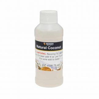 #1705-T-1 Natural Coconut Flavoring Extract 4 oz