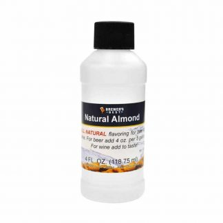 Natural Almond Flavoring 4oz