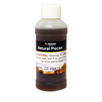 #1705-P-1 Natural Pecan Flavoring Extract 4 oz
