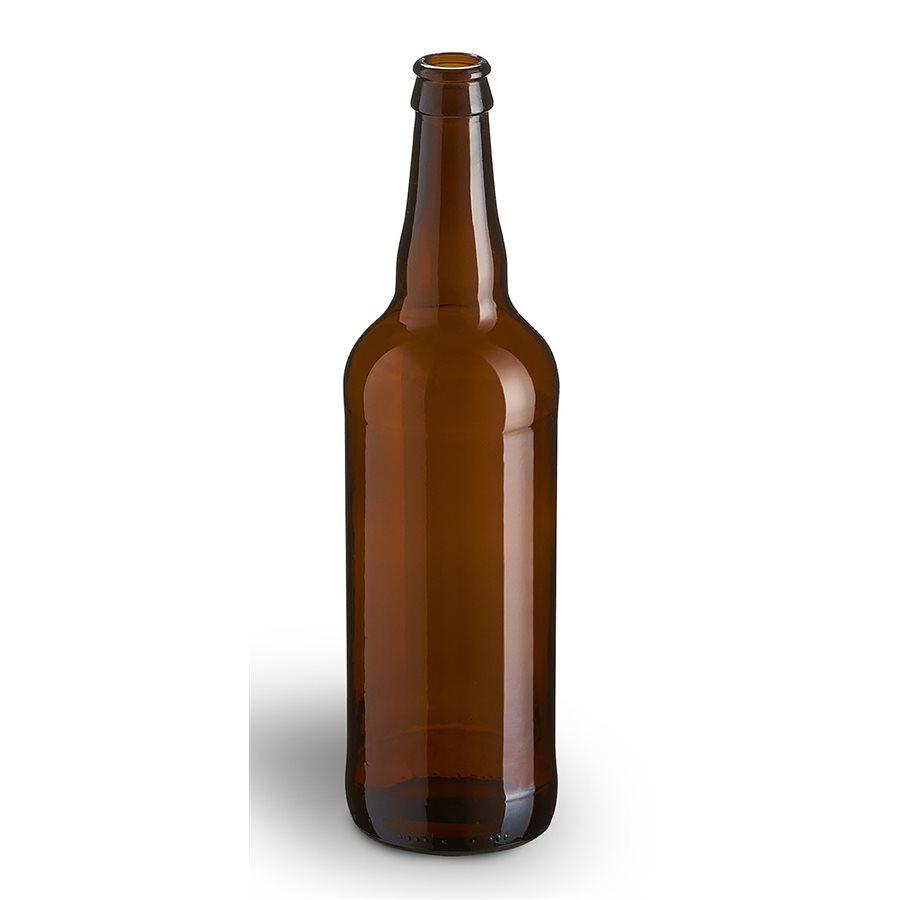 A 22 oz beer bottle,