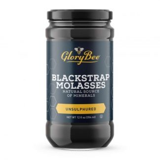 Unsulphured Blackstrap Molasses 12 oz. Jar