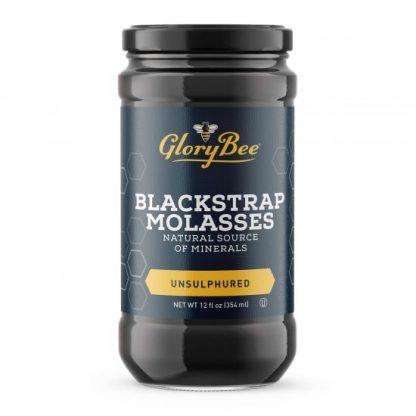 Unsulphured Blackstrap Molasses 12 oz. Jar