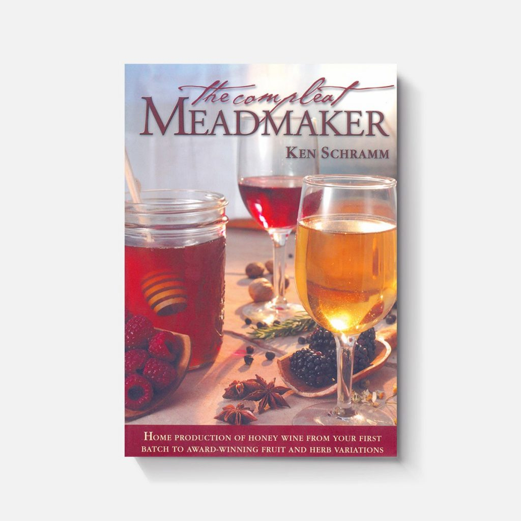 "The cover of ""The Compleat Meadmaker"" by Ken Schramm"