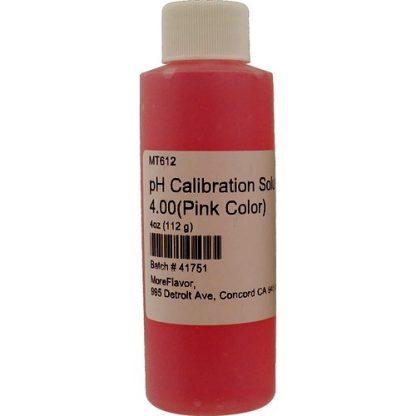 pH Calibration 4.0 Solution 4 oz.