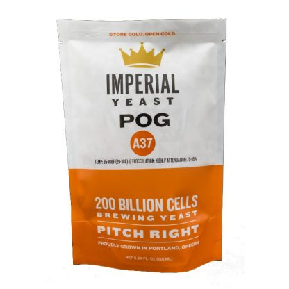 Imperial Yeast #A37 POG 255ml Package Front