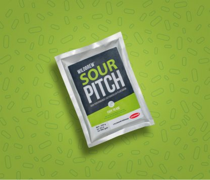 A vacuum-sealed pack of Lallemand's Sour Pitch dry brewing bacteria.