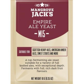 Mangrove Jack M15 Empire Ale Yeast 10 grams