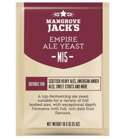 Mangrove Jack M15 Empire Ale Yeast 10 grams