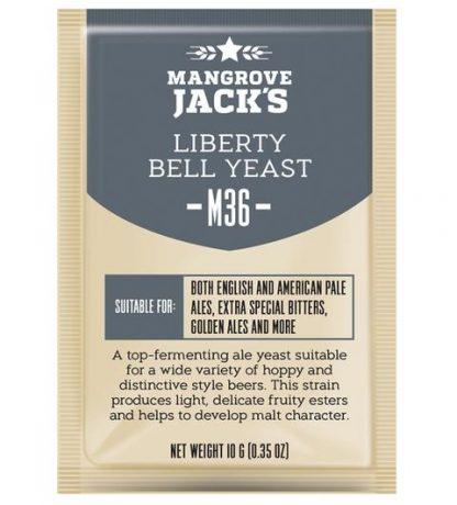 Mangrove Jack M36 Liberty Bell Dry Yeast 10 grams