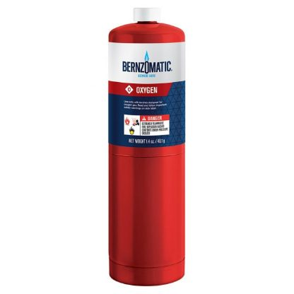 bernzomatic oxygen tank 1.4 oz