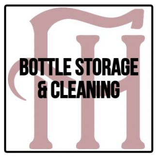 Bottle Storage & Cleaning