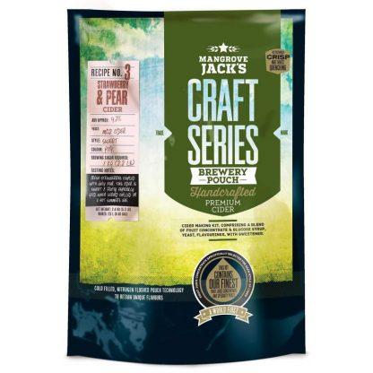 Mangrove Jack's Craft Series Strawberry & Pear Cider Kit