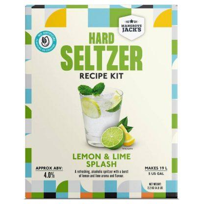 Mangrove Jack's Lemon & Lime Splash Hard Seltzer Kit