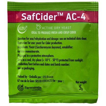 Fermentis SafCider™ AC-4 5g